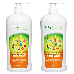 BabyOrganix Baby Feeding Bottle Wash (800ml)