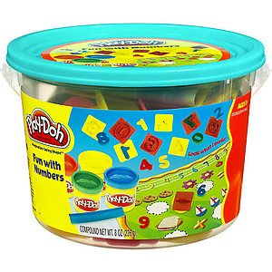 Play-Doh Fun With Numbers Bucket Mini