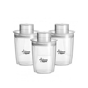 Tommee Tippee Closer To Nature - Milk Powder Dispenser ( 3pcs ) - BPA Free
