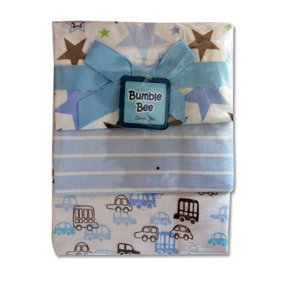 Bumble Bee 3pcs Receiving Blanket