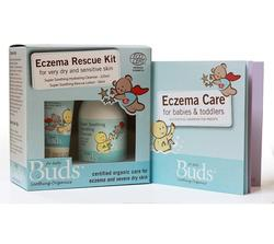 Buds Soothing Organics Eczema Rescue Kit Pack