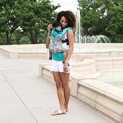 Lillebaby Complete All Seasons Baby Carrier-Lily Pond
