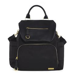 Skip Hop Chelsea Downtown Chic Diaper Backpack - (Black)