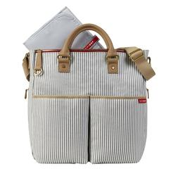 Skip Hop Duo Deluxe Diaper Bag Limited Edition-French Stripe